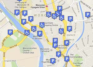 city centre parking