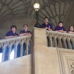 Worcester Cathedral's young bellringers compete in Oxford