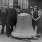 Worcester Cathedral recast eleventh bell 1928